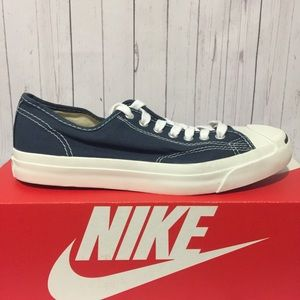 Converse Jack Purcell Ox Sz 8 Blue